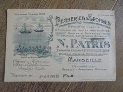 Marseille Pécheries D'éponges Peaux De Chamois N Patris  D - Marseilles