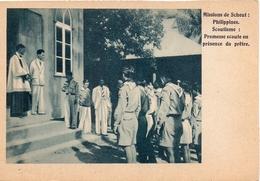 PK - Devotie- Devotion  - Missie - Missions De Scheut - Philippines Filipijnen - Scoutisme - Promesse Scoute - Scouts - Misiones