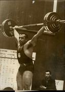 PHOTO - Photo De Presse - JEAN-PAUL FOULETIER - Haltérophilie - 1967 - Sports