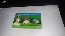 Myanmar- Birmanie Burma-MECTEL-cdma 20001x800mhz-5000kyats-gsm Prepiad Top Up Card-used Card+1prepiad Card Free