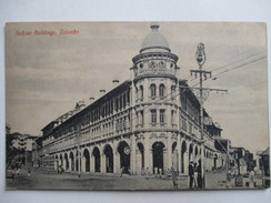 SRI LANKA  - ( CEYLAN ) -   COLOMBO  - GAFFOUR BUILDINGS      ANIME  TTB - Sri Lanka (Ceylon)