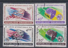 Rwanda N° 108 / 11 XX, O  Parc National De La Kagera, Les 4 Valeurs  Sans Charnière Ou Oblitérations Légères Sinon TB - Rwanda