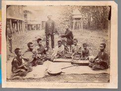 Cambodge Photo Originale : Orchestre Instruments Annamites (PPP4699) - Places