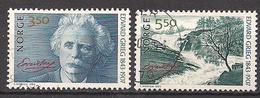 Norwegen  (1993)  Mi.Nr.  1125 + 1126  Gest. / Used  (4ff01) - Gebraucht
