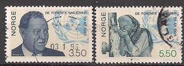 Norwegen  (1995)  Mi.Nr.  1187 + 1188  Gest. / Used  (4ff02) - Gebraucht