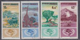 Rwanda N° 118 / 21 XX, O  20ème Ann. De L'O. N., Les 6 Valeurs  Sans Charnière Ou Oblitérations Légères Sinon TB - Rwanda