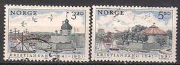 Norwegen  (1991)  Mi.Nr.  1064 + 1065  Gest. / Used  (4ff08) - Gebraucht