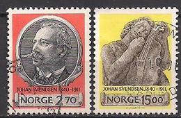 Norwegen  (1990)  Mi.Nr.  1054 + 1055  Gest. / Used  (4ff09) - Norwegen