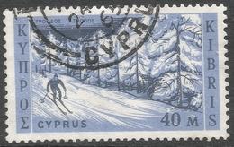 Cyprus. 1962 Definitives. 40m Used. SG 218 - Cyprus (Republic)