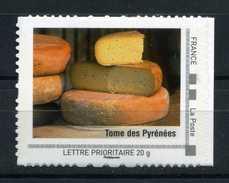 "Tome Des Pyrénées , Fromage Adhésif Neuf ** . Collector "" MIDI-PYRENEES ""  2009 - Collectors"