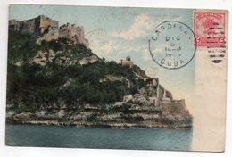 Cuba--SANTIAGO DE CUBA--1909--El Morro N°45 éd Harris Bros--cachets CARDENAS-VILLEURBANNE(France)-PHAN RANG(Vietnam) - Cuba