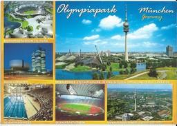 Stadion,Stadium,Stade,stade De Football,football Stadium.Olimpiapark.Munich.Germany - Stades