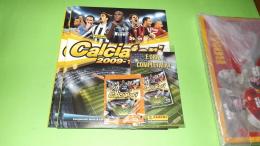 Calciatori 2009-10,,2 Album Vuoti+aggiornamenti+1 Bustina Lo Sprint Scudetto Panini Figurine Stikers - Panini