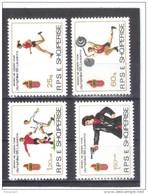 ALB356  ALBANIEN 1985  MICHL  2250/53 ** Postfrisch SIEHE ABBILDUNG - Albanien