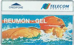 PHONECARDS-- PORTUGAL-TELECOM PORTUGAL. 20 U-- REUMON GEL-- MINT-- NOVO - Portugal