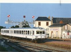 44  SAINTE  PAZANNE   LE  TER   NANTES  ST  GILLES   EN  GARE     JUILLET  1995 - France