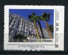 """CANNES La Croisette Adhésif Neuf ** . Collector """" PROVENCE - ALPES - COTE D'AZUR """"  2009"""