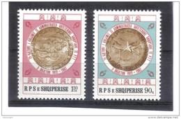OST1398 ALBANIEN 1987  MICHL 2352/53 Postfrisch SIEHE ABBILDUNG - Albanien