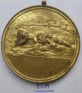 MEDAL SWIMMING HUNGARY PECS 1942  PLIM - Swimming