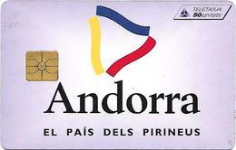 @+ Andorre - Logo - 10 000ex - Ref : AND036 (1995)