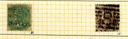 Inde Anglaise Y&T Service 21 Et 25 ° - 1852 Sind Province