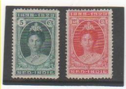 INDES NEERLANDAISES 1923 YT N° 143-144 Neufs* - Niederländisch-Indien