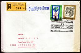 Austria Salzburg 1982 / Salzburger Festspiele / Peter Handke Über Die Dörfer / Theater / Einschreibebrief - Theater