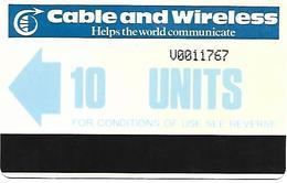 @+ Saint Vincent - Caraibes - C&W Autelca 10 Units - Ref : STV-AU2 (1984) - St. Vincent & The Grenadines