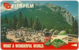 Singapore - Baniff, Privates Fuji Film, 1SFUN, 23.600ex, Used