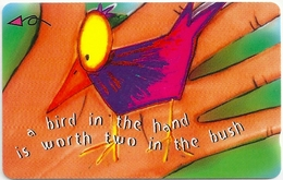 Singapore - Bird In The Hand - 227SIGA99 - 01.1999, Used