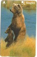 Singapore - Brown Bears, Animals, 236SIGA2K, 2000, Used