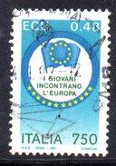 R1708 - ITALIA 1991 , Serie N. 1957  Usata . Ecu - 6. 1946-.. Repubblica