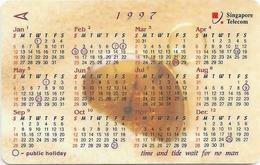 Singapore - Calendar 1997, 93SIGA, 1997, 500.000ex, Used