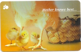 Singapore - Chicks, Young Animals, 133SIGD, 1998, Used