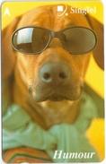 Singapore - Dog, Animals, 238SIGB2K, 2000, Used
