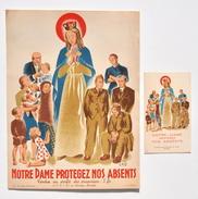 Guerre 40-45 : Notre Dame Protégez Nos Absents - Aumônerie Des Prisonniers De Guerre, Bruxelles / Sainte Marie - Documenti