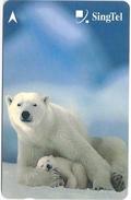 Singapore - Polar Bears, Animals, 236SIGD2K, 2000, Used