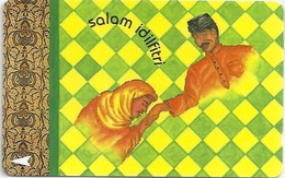 Singapore - Salam Idilfitri 2, Hari Raya Puasa, 39SIGC, 1994, 150.000ex, Used
