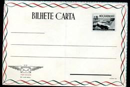 MOZAMBIQUE AEROGRAMME #G12 FORT CALELA DE FORTALEZA Mint 1953 - Mosambik