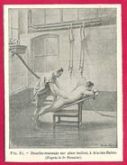 Douche-massage à Aix Les Bains Larousse Médical Illustré 1929 - Vieux Papiers
