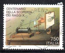 R1726 - ITALIA 1995 ,  N. 2170  Usato . Raggi X - 6. 1946-.. Repubblica