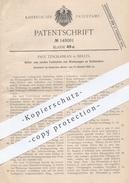 Original Patent - Paul Tzschabran , Berlin , 1902 , Festhalten Von Werkzeug An Drehbank | Dreher , Metall , Holz !!! - Historische Dokumente