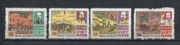 NORTH VIETNAM) 1987 Eventi Nazionali Serie Cpl 4val MNH** Scott 1740-43 - Vietnam