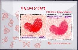 Zuid Korea 2006 BL Philately Week PF-MNH - Corée Du Sud
