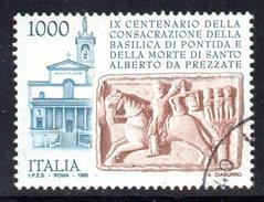 R1736 - ITALIA 1995 ,  N. 2188  Usato . Pontida - 6. 1946-.. Repubblica