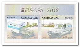 Azerbeidzjan 2013, Postfris MNH, Europa-cept, Transport, Booklet - Azerbeidzjan