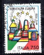 R1738 - ITALIA 1993 ,  N. 2034  Usato . Europa - 6. 1946-.. Repubblica