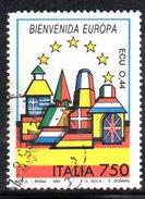 R1749 - ITALIA 1993 ,  N. 2045  Usato . Europa Spagna - 6. 1946-.. Repubblica