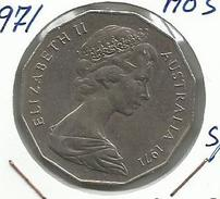 Australia_1971_50 Centimos - 50 Cents