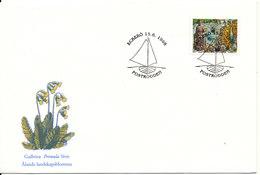 Aland Cover With Special Postmark Eckerö 15-6-1996 - Aland